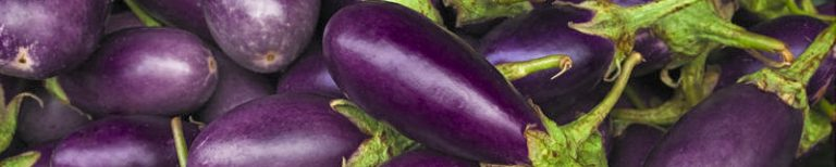 aubergine, eggplant, melanzana, different names for a tasty veg