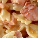 pasta salmon and cream, comfort food by excellence