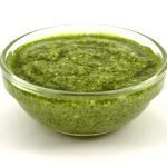 pesto Genovese, the green world famous sauce
