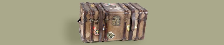 beautiful chest for traveling