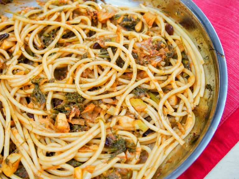 pasta with sardines, a Sicilian classic