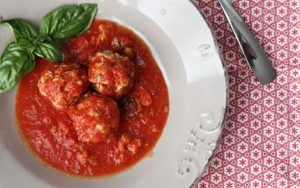 sardine balls in tomato sauce that knock you right of your socks