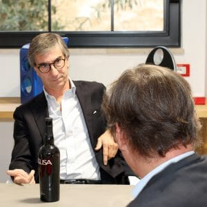 Luigi Salvo advices a grillo wine to match macco