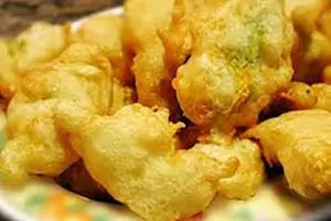 Broccolo in batter