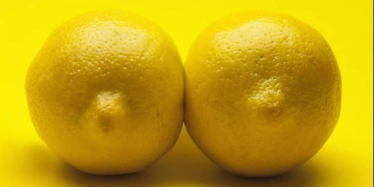 two lemons that may look like boobs. Department of Salute