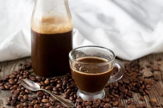 cold coffee, a summer solution to drink coffee