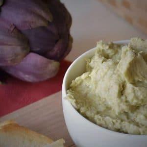 artichoke cream, pate