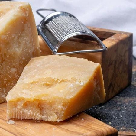 nice hard seasoned cheese