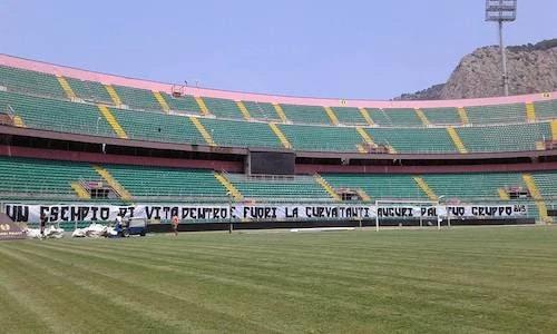 stadium of Palermo football, empty