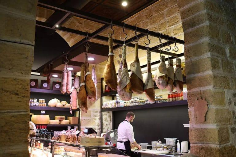 corner at Giuseppe Costa's Dispensa