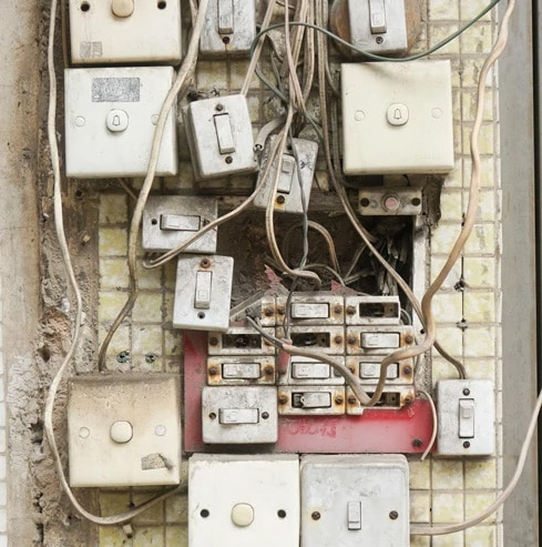 DIY wiring is not a good idea