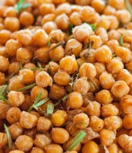kinky chickpeas as a snack