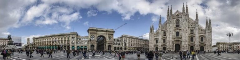 Milano, capital of Lombardy