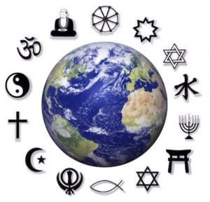 Christ, christianity and other world religions