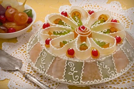 The Sicilian Cassata is over 2000 years old; a record