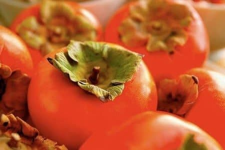 persimmon, a funky fruit indeed
