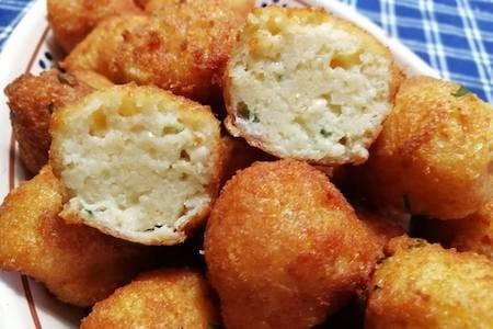 vegetarian 'meat' balls, polpette di pane