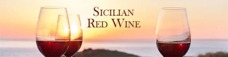 sicilian red wine