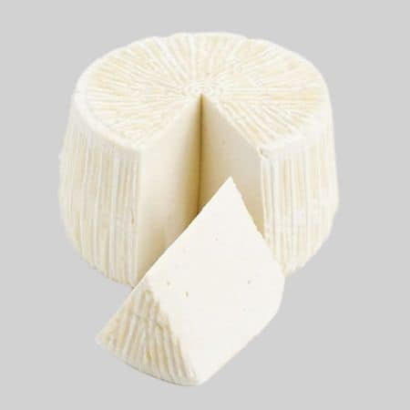 tuma, fresh pecorino cheese