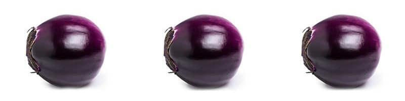 Deep aubergine