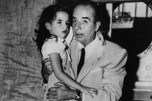 Hollywood father and daughter, Vincente and Liza Minnelli