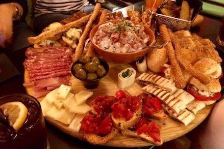 aperitif at Il Siciliano in Palermo