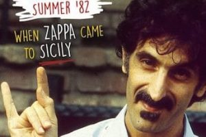 Frank Zappa, with roots in Partinico, Sicily