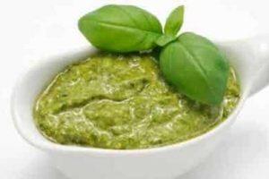 light green pesto