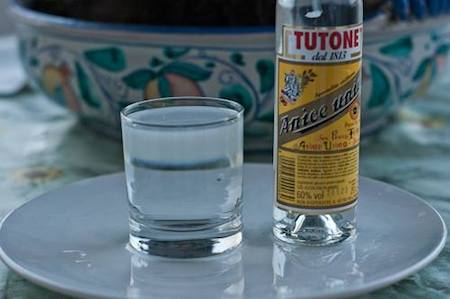 tutone aniseed spirit, a nice touch to a glass of water