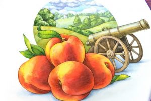 war of peaches, what stealing a peach can lead to