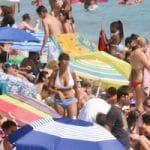 busy beach featured
