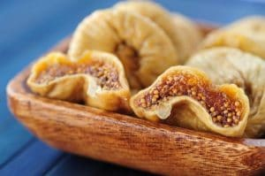 a sun dried fig can last and become a treat for dark winter days