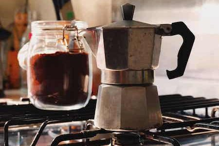 a coffee pot aka moka Italian Style