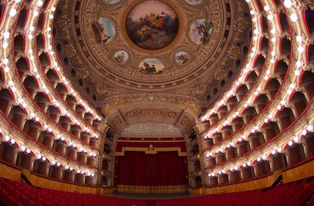 teatro Bellini, Catania, home of Norma