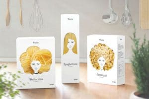 pasta with a beautiful packaging