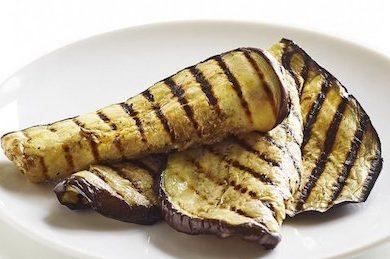 grilled egglant aka aubergine