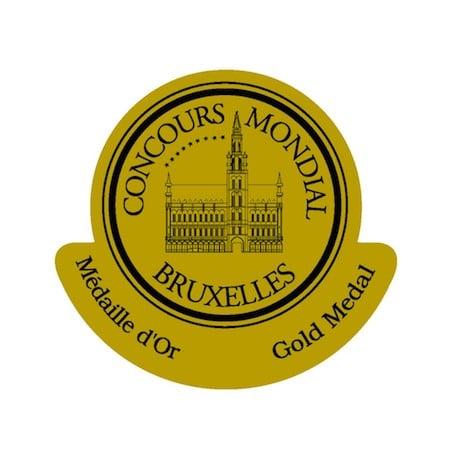 gold medal concours international de Bruxelles
