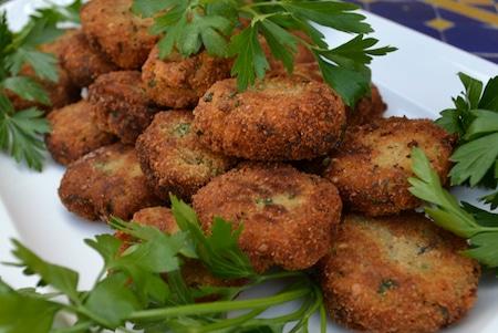 polpette di melanzane, summer queen balls - eggplant croquettes