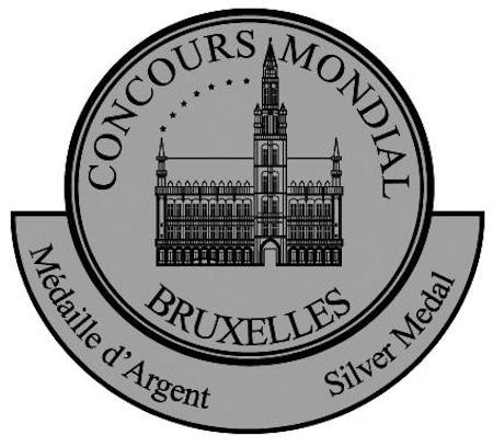silver medal on the international concours de Bruxelles