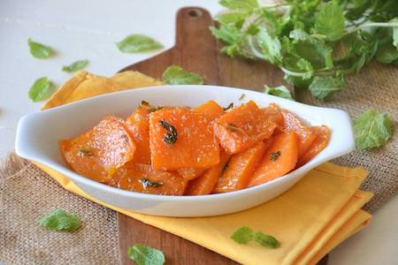 zucca all'agro dolce