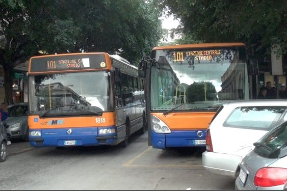 busses in Palermo, not to the likes of Europe