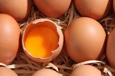 eggs for carbonara