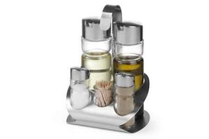 olive oil, vinegar and salt, your diy trattoria salad dressing