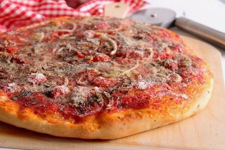 rianata pizza, oregano based