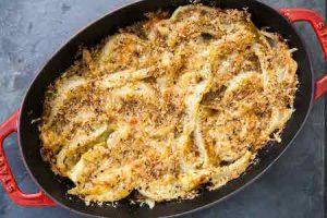 fennel gratin, a classic