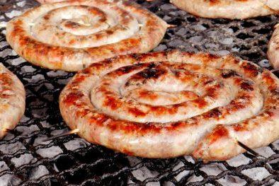 salsiccia alla brace, roasted sausage