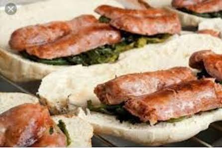 panino con la salsiccia