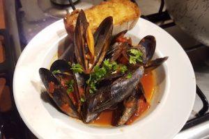 zuppa di cozze, mussels soup
