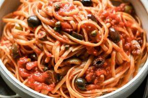 pasta alla puttanesca, what's in a name