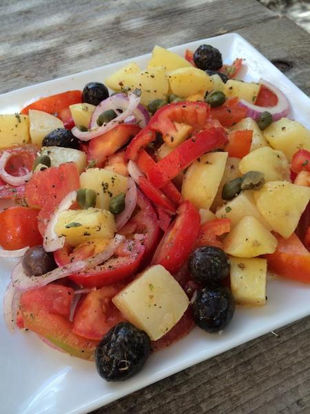 insalata Pantesca, a Sicilian Salad
